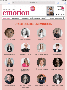 Womens Day Hamburg 2019 Emotion Magazin Larissa Wasserthal Coaching