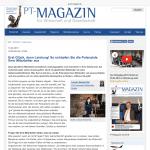 PT Magazin - Erst Glück dann Leistung - So schöpfen Sie die Potenziale Ihrer Mitarbeiter aus